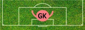 ポジション:GK(ゴールキーパー)