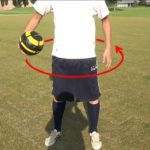ボールフィーリング1:ボールを体の周りで回す