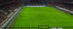 画像:サッカーのコートを俯瞰で見るイメージ