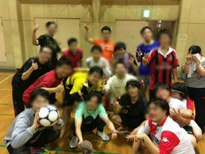 2016年10月4日FCマジョリカのフットサル練習