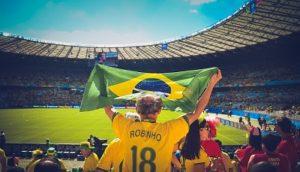 W杯・ブラジル・サッカー世界一のイメージ