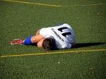 サッカー選手の怪我