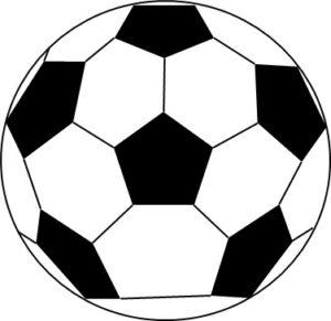 サッカーボールのフリー素材、イラスト、画像、jpeg