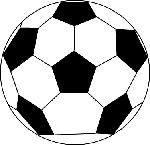 サッカーボール 無料素材・イラスト jpeg