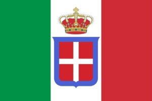 画像:イタリア王国の国旗