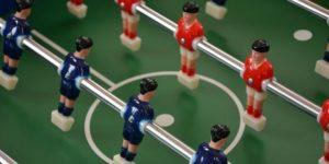 サッカーのフォーメーション(陣形)のイメージ画像