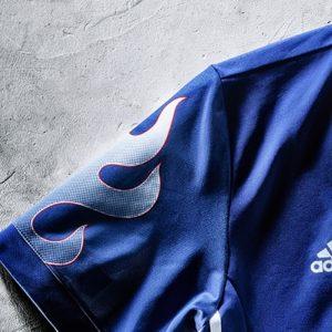 画像:サッカー日本代表の新ユニフォーム