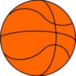 バスケットボールの自作画像:無料