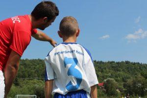 サッカーのコーチの写真