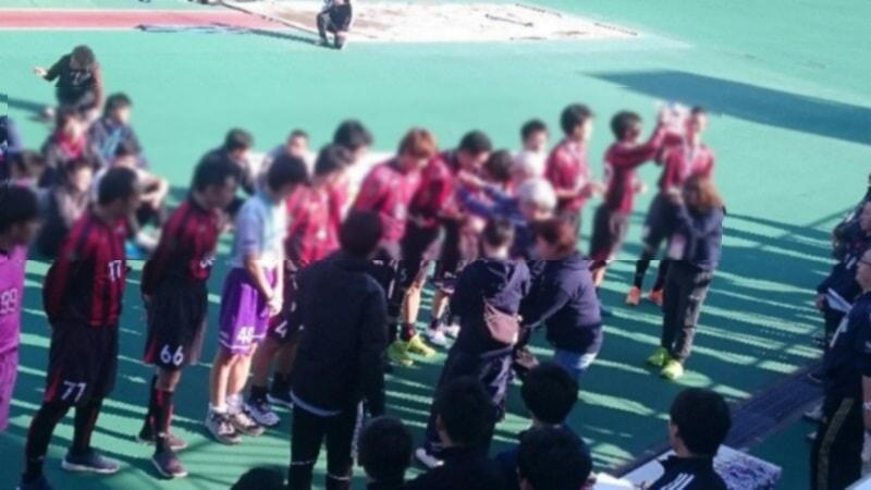 第16回全日本ろう者サッカー選手権大会:優勝メダル贈呈