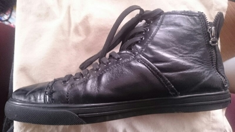 シューグーで修理、補修舌靴の写真